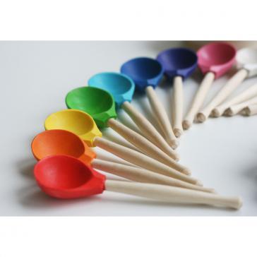 Набор Цветные ложки
