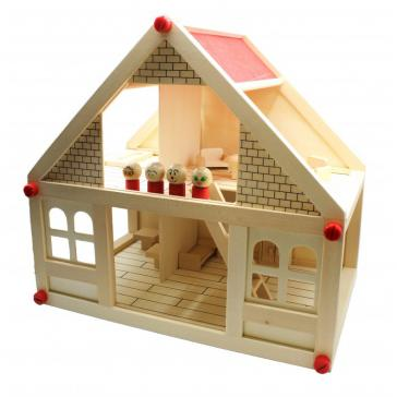 Кукольный дом с мебелью и персонажами 1801 Б