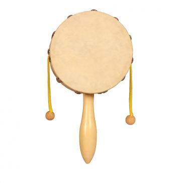 Индийский барабан дамару 10 см. FLIGHT FD-10N