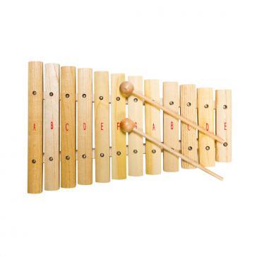 Ксилофон 12 нот 2 палочки FLIGHT FX-12N