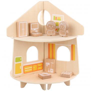 Кукольный домик круглый LL233