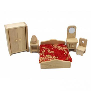 Мини - мебель с мягкими аксессуарами спальня Б1811