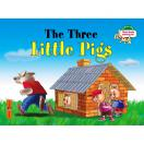 Три поросенка. The Three Little Pigs на английском языке