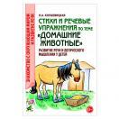 Стихи и речевые упражнения по теме Домашние животные