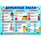 Дем плакат Дорожные знаки А2 1013-9