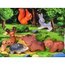 Набор животных из 6 предметов    12С50-1220