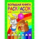 Большая книга раскрасок для самых маленьких Р76231