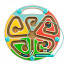 Лабиринт магнитный Цвета Д442