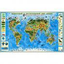 Карта Животный и растительный  мир Земли 433