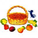 Шнуровка Корзина с фруктами арт.7929