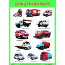 Плакат Спецтранспорт МС10807