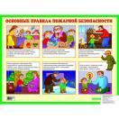 Основные правила пожарной безопасности. Наглядное пособие