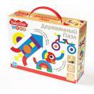 Пазл деревянный 40эл. Baby Toys 04055