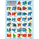 Плакат А-2 Азбука Разрезная ПЛ-6096