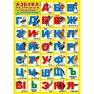 Плакат А-2 Азбука Разрезная ПЛ-6097