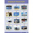 Плакат Водный транспорт