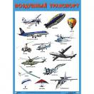 Плакат Воздушный транспорт