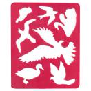 Трафарет Птицы 9С 449-08
